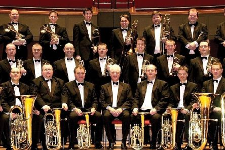 The brass band will play at a fundraiser for Marie Curie