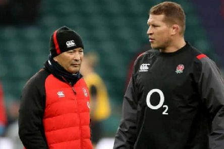 England coach Eddie Jones, left, and captain Dylan Hartley have plenty to ponder after today's defeat.