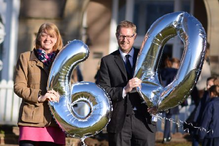 Pupils and teachers mark 60 years in education