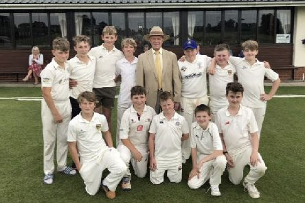 Schoolboys bowled over at achievement