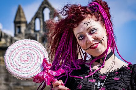 Whitby Goth Weekend 13th April 2019 - Annabel Aston from North Wales