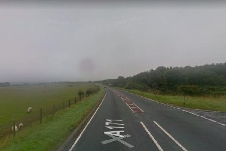 The A171 near Whitby. Picture: Google.