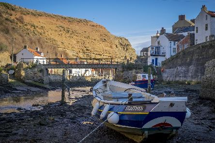 The council is looking at a plan to protect Staithes from floods and coastal erosion.