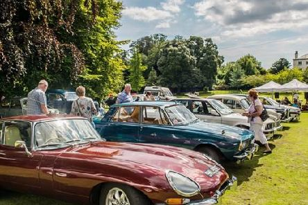 Classic cars at Sewerby