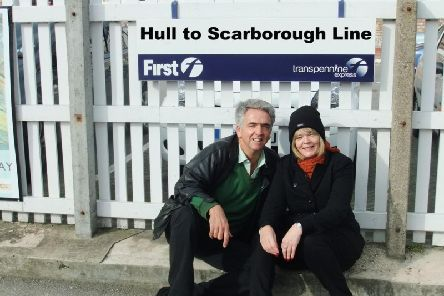 Sue Wilsea, of Hull, and Felix Hodcroft, of Scarborough
