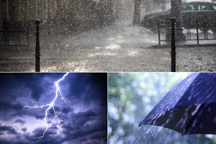 We could see downpours on the Yorkshire coast at the start of next week.