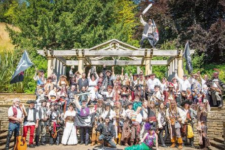 Pirates will be heading to Whitby this weekend for the Tortuga Festival.