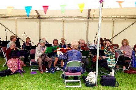 The Hawsker Village Band will be at St John's church tomorrow.