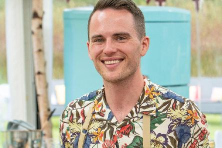 David Atherton, a contestant in this year's Bake Off. PIC: C4/Love Productions/Mark Bourdil