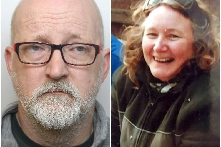 Pictured left, David Pomphret, right, Ann Marie