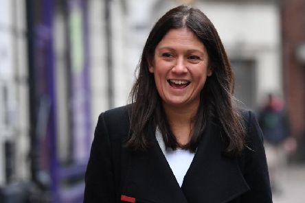 Lisa Nandy in London on Wednesday