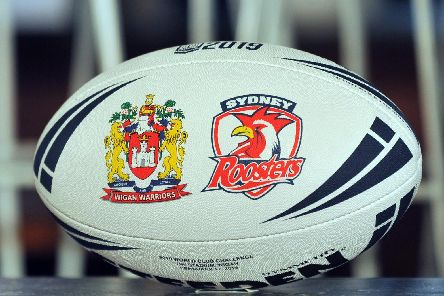 The special match ball for the World Club Challenge