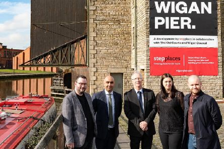 Wigan Council, Step Places and The Old Courts are working together to transform Wigan Pier