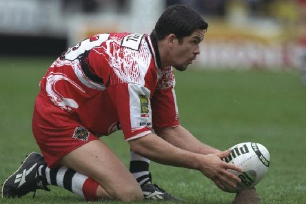 Andy Farrell in his Wigan days