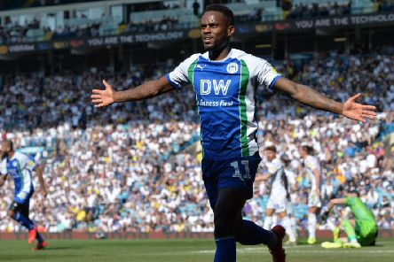 Wigan Athletic took a huge step towards safety with victory over Leeds United