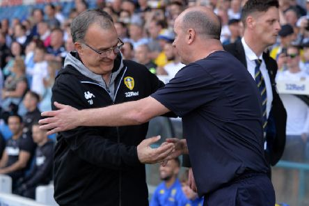 Marcelo Bielsa and Paul Cook
