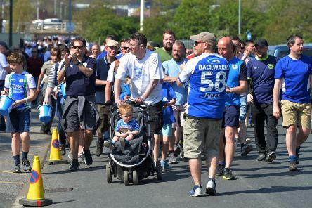 Joseph's Goal supporters arrive in Leeds - after a 58-mile walk!