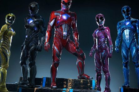 The Power Rangers. I did not look like this as a ninja..