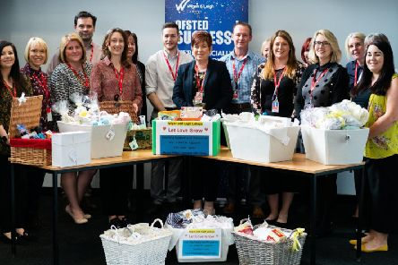 Wigan and Leigh Colleges additional support team gets involved in the Let it Grow campaign