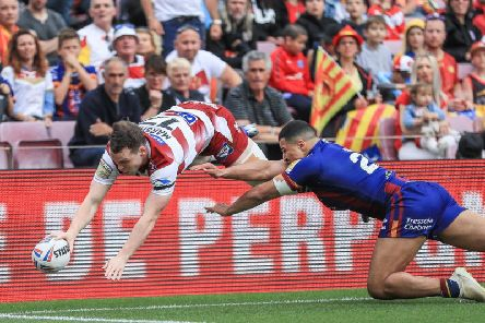 Liam Marshall had a second-half try ruled out