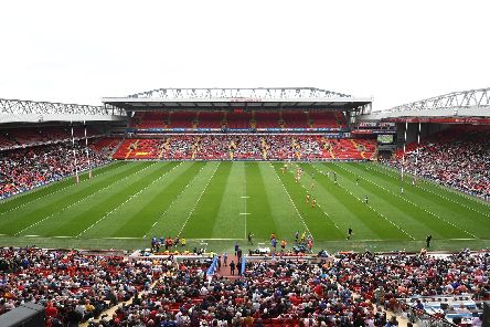 Anfield is staging the Magic Weekend. Picture: SWPix
