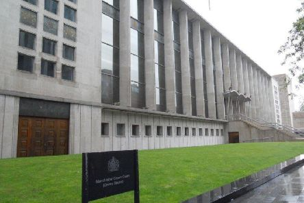 The trial is being held at Manchester Crown Court