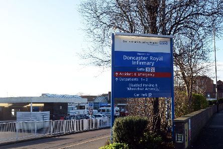 Doncaster Royal Infirmary.