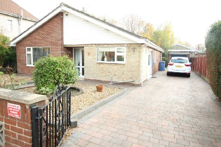 The property is on Anston Avenue in Worksop