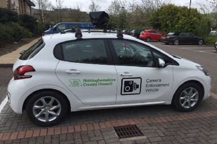 Nottinghamshire County Council has invested in a third CCTV camera car