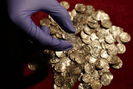 More buried treasure troves were found in Nottinghamshire last year than the year before