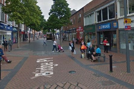 The charge relates to an incident in the Bridge Place area of Worksop. Pic: Google Images.