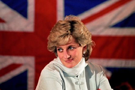 Diana, Princess of Wales. PIC: PA
