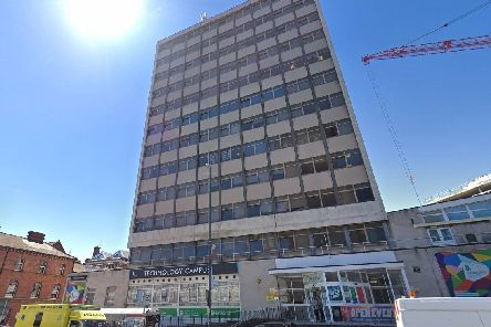 Leeds Technology College in Woodhouse Lane. (Credit: Google)