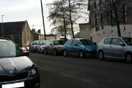 Police have left imitation parking fines on cars in east Leeds.