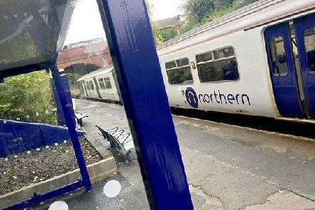 There were severe delays to the Northern services near Harrogate tonight.