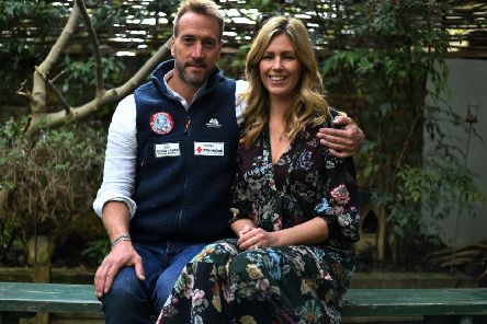 Ben Fogle and his wife Marina. Photo credit: Kirsty O'Connor/PA Wire