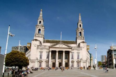 The meeting took place at Leeds Civic Hall.