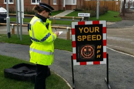 15 cars were caught driving over the speed limit in Garforth during a police operation this morning on Ninelands Lane and Derwent Avenue on Tuesday, March 19. Photo credit: West Yorkshire Police