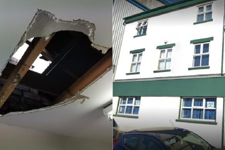 Thieves broke in the roof of Leeds Autism Services in Hunslet.