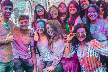 Leeds Holi Festival has been running for six years