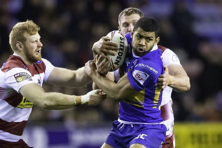 Kallum Watkins is back in Leeds Rhinos' squad for the trip to Catalans Dragons.
