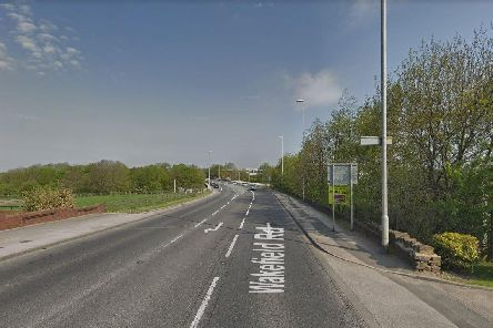 A driver has been left with serious injuries after a crash on the A650 Wakefield Road
