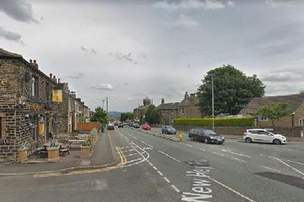 It happened close to the Highgate pub in New Hey Road. (Photo: Google)