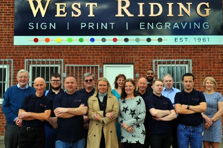 The team at West Riding Engraving in Leeds