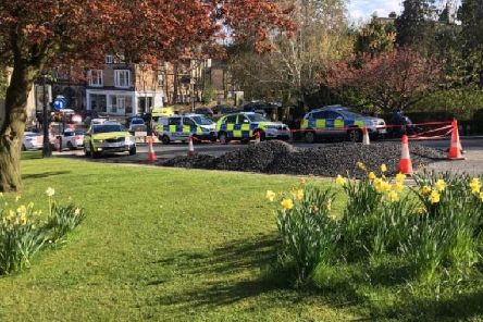 Two Leeds teenagers have been arrested for attacking two other teenage boys in Valley Gardens in Harrogate.