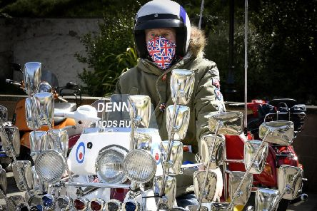 One of the riders at this weekend's event.