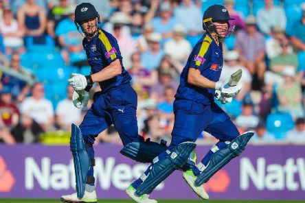 Yorkshire's Gary Ballance, right, and Tom Kohler-Cadmore added 124 but it couldn't prevent a one-run defeat to Lancashire at Headingley on Sunday. Picture:  Alex Whitehead/SWpix.com