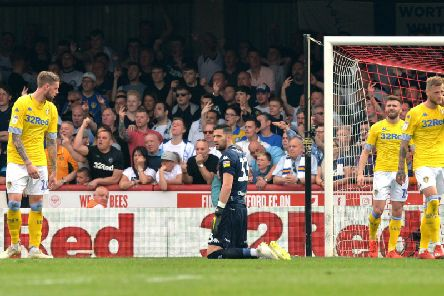 INQUEST: As Leeds United fall 1-0 down at Brentford.