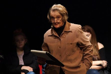 Talkin Bout My Generation show, performed by older adults. Photo courtesy of Leeds International Festival.
