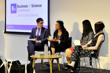 The Business of Science Conference at Cloth Hall Court in Leeds.